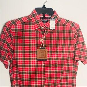 Daniel Cremieux Classics 38 Slim Fit red shirt